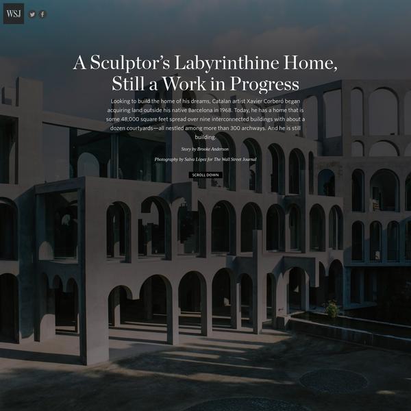 A Sculptor's Labyrinthine Home, Still a Work in Progress