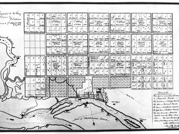 Plans for the city of Savannah (1770), James Oglethorpe