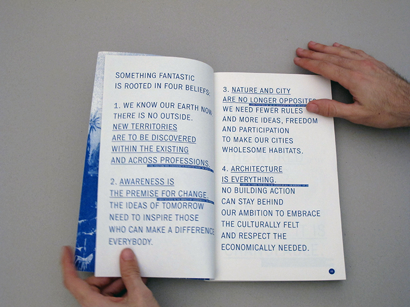 SOMETHING FANTASTIC – A Manifesto by three young Architects