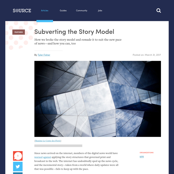 Subverting the Story Model