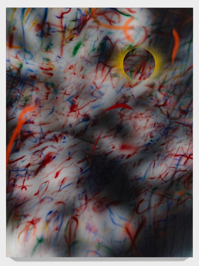 Julie Mehretu, about the space of half an hour (R. 8:1) 7, 2019–20.