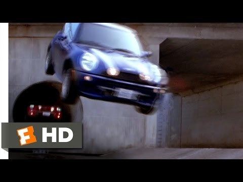 The Italian Job movie clips: http://j.mp/1uw9Psj BUY THE MOVIE: http://amzn.to/s96pvz Don't miss the HOTTEST NEW TRAILERS: http://bit.ly/1u2y6pr CLIP DESCRIPTION: Gunman on motorcycles chase the team through a tube which leads out into the LA River. FILM DESCRIPTION: A team of high-class thieves avenge their mentor's death -- with the help of his own daughter -- in this big-budget remake of the 1969 British caper classic.