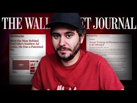 YouTubers like H3H3 and Keemstar (Drama Alert) are attacking the Wall Street Journal for systemically publishing hit pieces about the platform, but are they missing the bigger picture? Help me produce more originals, pledge $1 at: https://www.patreon.com/1791L 1791L - Shorts on politics & culture.