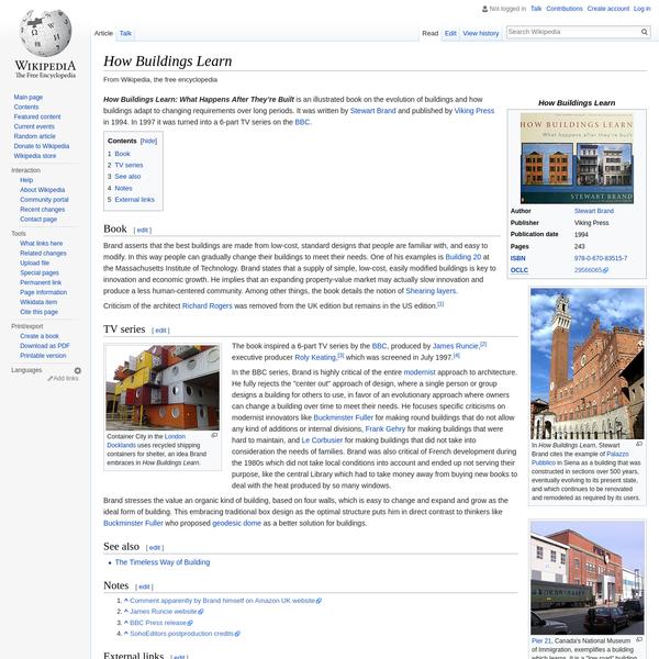 How Buildings Learn - Wikipedia