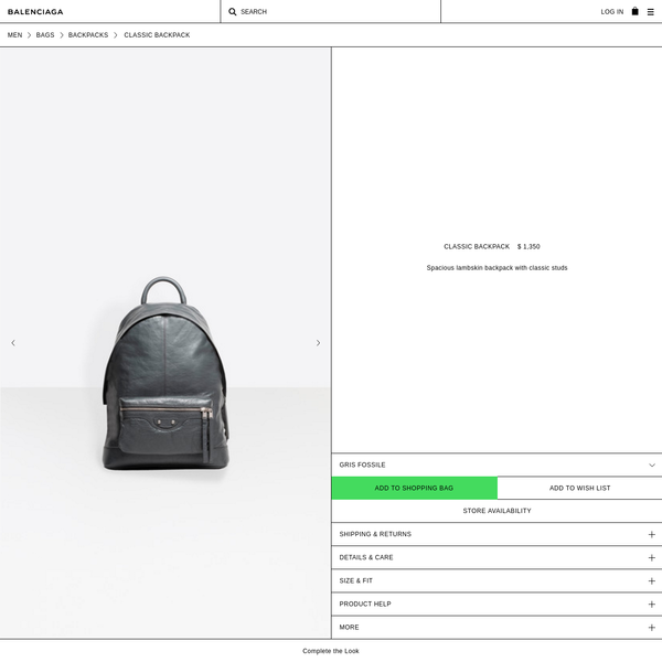 Discover the latest collection of Balenciaga Arena Backpack for Men at the official online store.