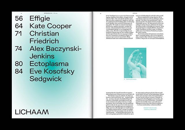 Out now! Metropolis M No2-Lichaam [body]. With: #sethprice #katecooper #documenta14 and #bartdebaets! Plus a 48p. #labiennaledivenezia special #metropolism #art #magazine #graphicdesign
