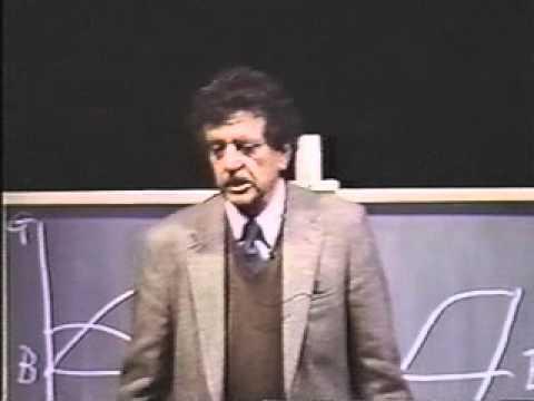 Kurt Vonnegut on the Shapes of Stories