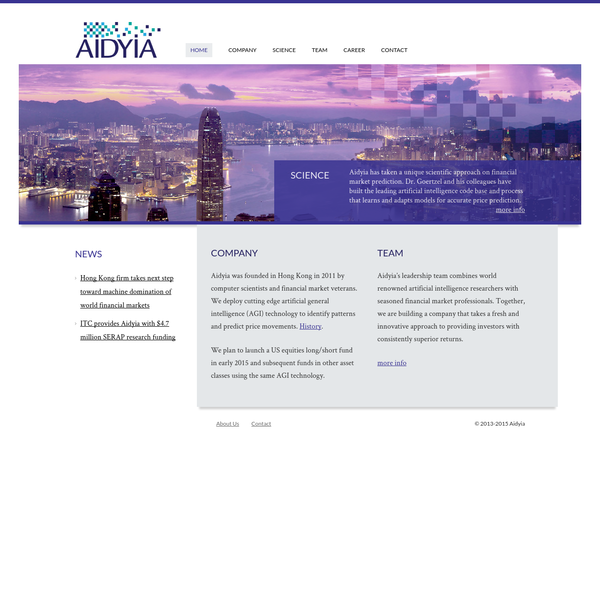 Aidyia | Investing with Advanced Intelligence
