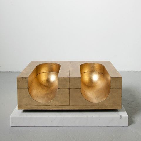 "317 Likes, 4 Comments - DLEUCI Design Studio NYC (@dleuci_studio) on Instagram: ""(BALLIANO BEAUTY) #davideballiano #art #sculpture #contemporaryart #gold #interiors #artfulliving..."""