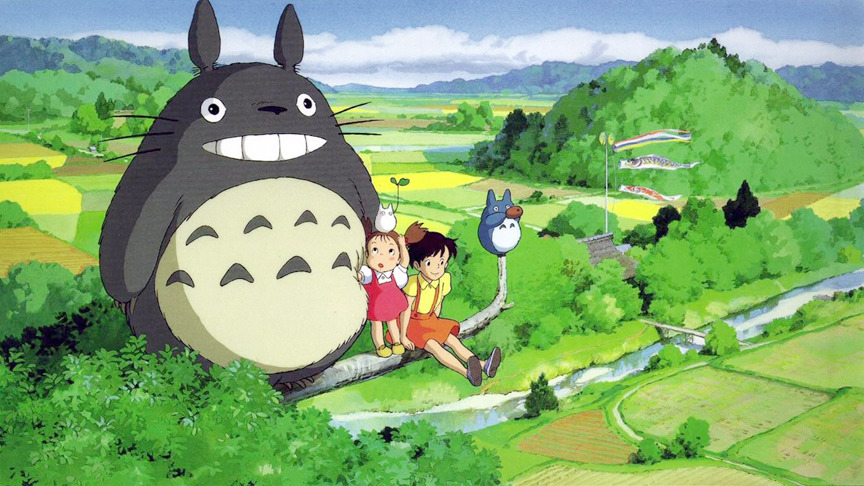 A very special visit... Among all the amazing animated movies Studio Ghibli has produced, Totoro continues to be my personal favorite for a few reasons. Aside from the mastery in design, animation, and story telling led by Miyazaki-sensei, My Neighbor Totoro brings me back to my own childhood every time I watch it.
