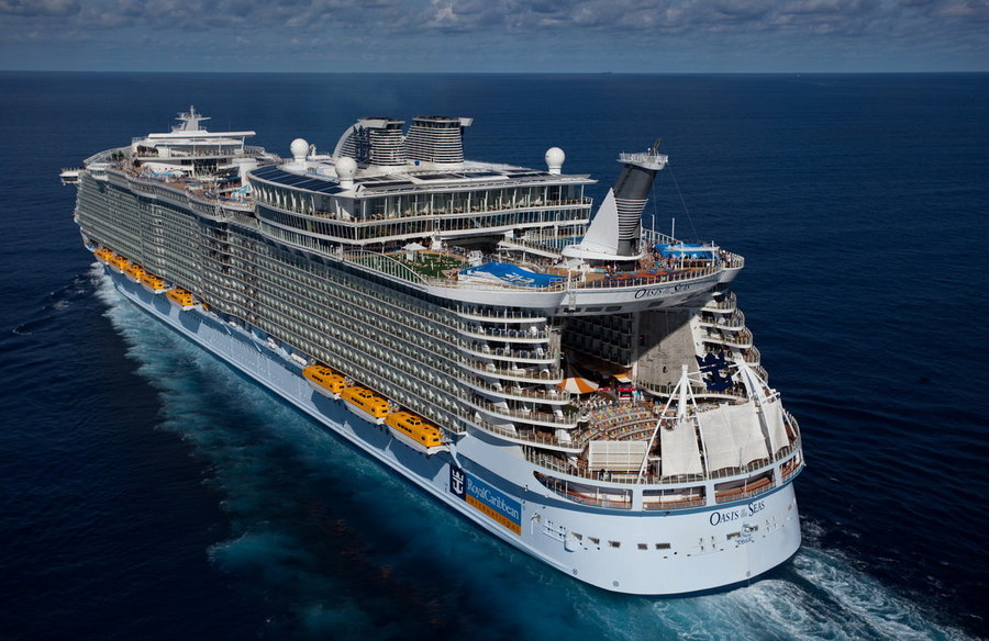 One of the biggest cruise ships in the world