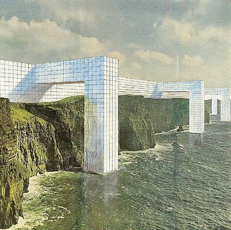 Superstudio Dystopic Megastructure