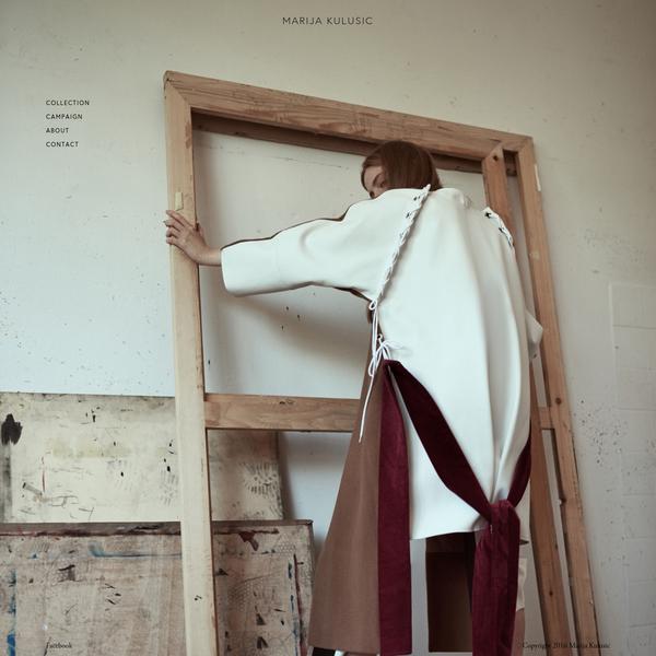 Marija Kulusic is a fashion designer based in Zagreb, Croatia.