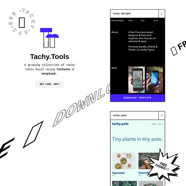 Tachy.Tools
