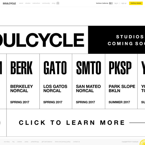 SoulCycle has revolutionized indoor cycling and taken the world of fitness by storm. 45 minutes to take your journey. Change your body. Find your SOUL.