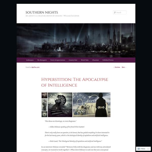 Hyperstition: The Apocalypse of Intelligence