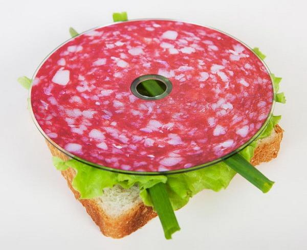 salami as disc