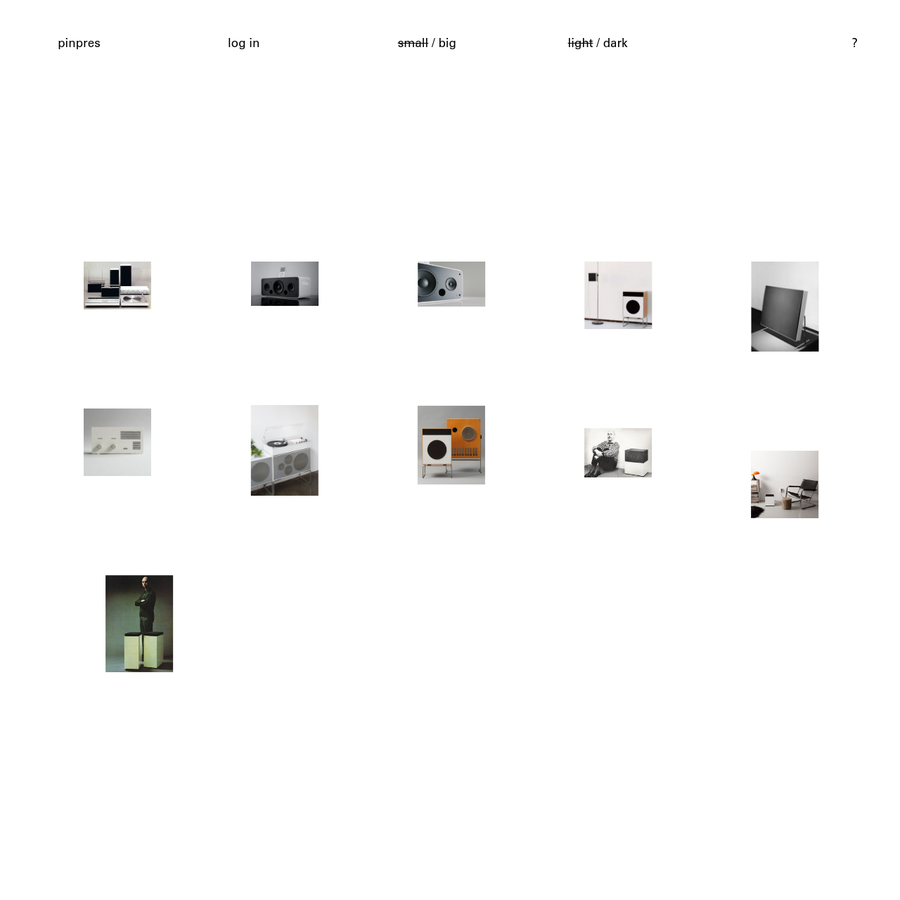 pinpres is a minimalistic presentation tool for pinterest boards.